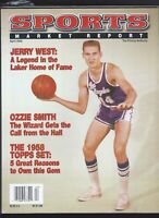 SMR Sports Market Report PSA/DNA Guide Magazine JERRY WEST  APRIL 2002 USED