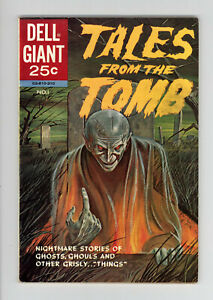 TALES FROM THE TOMB #1 - HIGH GRADE - VERY SCARCE HORROR Issue - 1962