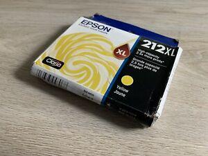 Epson 212XL YELLOW Original Genuine Ink Cartridge