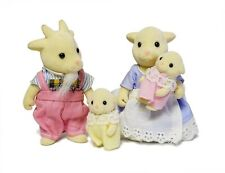 Sylvanian Families Calico Critters Nettlefield Goat Family