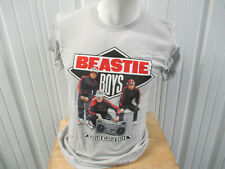 Vintage Beastie Boys Solid Gold Hits 2005 Grey Medium T-Shirt Ad Rock Mca Mike D