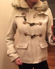 Guess Wool Ivory Coat