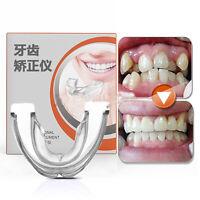 Hot Dental Orthodontic Teeth Corrector Brace Retainer Transparent Hard+Blue Soft