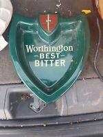 'Worthington Best Bitter' Ceramic Pub Ashtray