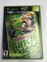 Oddworld Munch's Oddysee Xbox Complete Game by Microsoft Tested