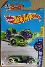 Hot Wheels 2016 51 of 250 Wattzup Hotwheels HW Glow Wheels Long Card