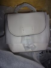 NWT COACH F59401 DERBY MINI BACKPACK PEBBLE LEATHER  CHALK NEUTRAL MSRP $295