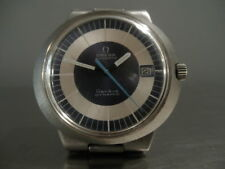 Mens Vintage Omega Dynamic Automatic Stainless Steel Wrist Watch