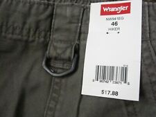 Mens Wrangler Hiker Shorts New With Tag Size 46