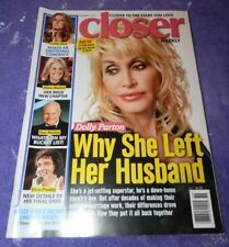Sept. 7, 2015 Closer Weekly Magazine-Dolly Parton Cover Story-Why She left Hubby