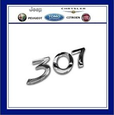 GENUINE PEUGEOT 307 BOOT BADGE Rear Emblem 2001-2010 Hatch Estate Saloon CC