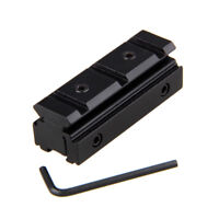 Scope Sight Torch 11mm zu 20mm Picatinny / Weaver Rail Adapter Mount für Jagd