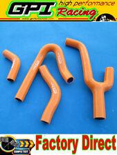 KTM 250MXC 250 MXC 99 00 01 02 1998 1999 2000 2001 2002 radiator hose orange