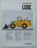 VOLVO Wheel Loader L120C 1997 dealer brochure catalog - English - USA