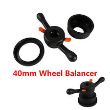 Car 40mm Wheel Balancer Quick Release Wing Nut & Pressure Cup Hub Shaft Nut Kit