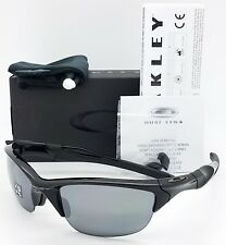 NEW Oakley Half Jacket 2.0 sunglasses Black Iridium Polarized 9144-04 AUTHENTIC