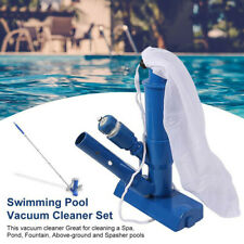 Swimming Pool & Spa Pond Fountain Vacuum Brush Cleaner Cleaning Tool Set