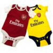 Official Arsenal F.C. 2 x Bodysuit 3- 6 months- new with tags