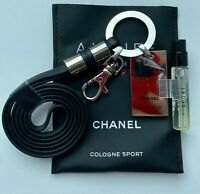 CHANEL CHARM MELALL + ALLURE HOMME SPORT COLOGNE 2 ml sample VIP GIFT