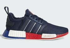 Adidas NMD R1 Mens Running Shoes Blue Navy FY1162 Los Angeles USA