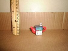 Miniature Figure Red Rose Teapot Cell Phone 1983 Lot#8