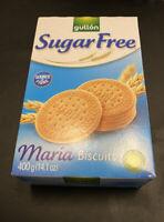 Gullon Sugar Free Maria Biscuits 400g (2 x 200g) Bolacha Maria