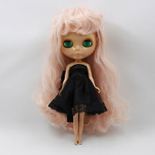 """Takara 12"""" Neo Blythe Pink Hair Nude Doll from Factory Tby423"""