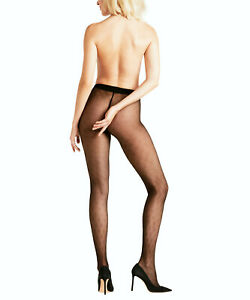 Falke Vegetal Vein 20 Den Women's Stockings With Fine Diamond Pattern