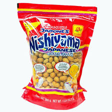 DE LA ROSA CACAHUATE JAPONES 2 LBS, Bulk Pack Nishiyama Cocktail Peanuts 2 Lbs