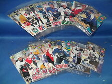1996-97 UPPER DECK HOCKEY - POST CEREAL SET (24) NHL CARDS ! RARE / LQQK !