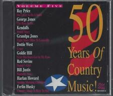 50 YEARS OF COUNTRY Vol. 5 Goldie Hill Ferlin Husky Harlan Howard Sovine NEW CD