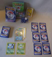 Vtg 90s Pokemon Sammelkarten Spiel TCG ÜBERWUCHS Themendeck Wasser / Pflanze