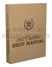 1968 Cadillac Shop Manual 68 Deville Eldorado Calais Fleetwood 60 Special Repair