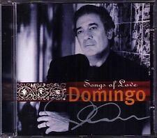 Placido DOMINGO Signiert SONGS OF LOVE O Sole Mio Spanish Eyes Jealousy Tango CD
