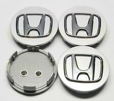 4  Caches Jante moyeux - Centre roue - Honda Accord Civic CRV etc...  69mm