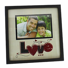 "New View  Photo Frame - Love 6x4"" Wedding Anniversary Gift Idea NEW"