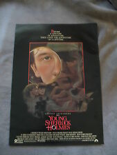 Young Sherlock Holmes 1985 Steven Spielberg Levinson 17x24 MINI Movie Poster VG