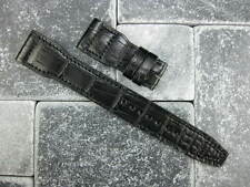 Genuine Alligator Leather Strap Extra Large Deployment Band for IWC BIG PILOT XL