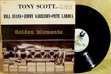 Jazz PROMO LP  GOLDEN MOMENTS Tony Scott Bill Evans Jimmy Garrison Pete LaRoca