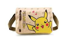 Neu Anime Manga POKEMON Pikachu Cosplay Segel Messenger Tasche Bag 33x26x7CM