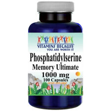 Phosphatidylserine 1000mg 100 Caps Highest Potency USD Approved Facility