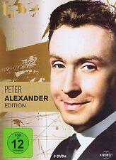 DVD-BOX NEU/OVP - Peter Alexander Edition - 3 Filme - Die Fledermaus u.a.