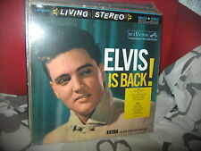 ELVIS PRESLEY-ELVIS IS BACK-LP-SPEAKERS CORNER RECORDS 1968