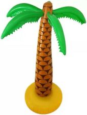 """2x Inflatable Palm Tree 6ft 168cm 72"""" Hawaiian Summer Party UK SELLER QUICK POST"""