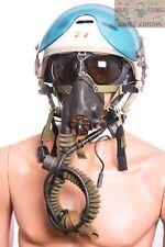 Fighter pilot helmet ZSH-3 oxygen mask motorcycle jet air force Russian flight