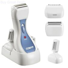 Women Shaver Ladies Electric Razor Rechargeable Groomer Wet/Dry - New