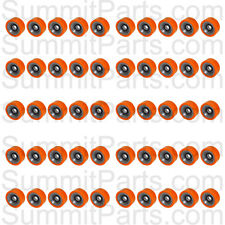 50PK - HIGH QUALITY ORANGE DRUM ROLLER BEARING FOR HUEBSCH/SQ/IPSO - 70298701P