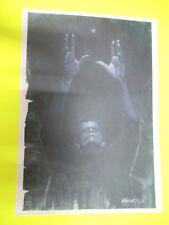LITOGRAFIA STAMPA FRANKENSTEIN CARTA FEDIGRONI POSTER cm29,90 X 42,00cm GADGET