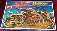 IMAI THUNDERBIRDS TRACY ISLAND Secret Base of Intl Rescue Diorama Model Kit Set