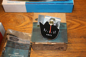 1966 NOS Mustang/Shelby Ammeter Gauge C6ZZ-10820-B AMP GAUGE